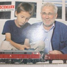 Trenes Escala: CATALOGO DE TRENES FLEISCHMANN INICIARSE CON LOS EXPERTOS AÑO 2006. Lote 182860723