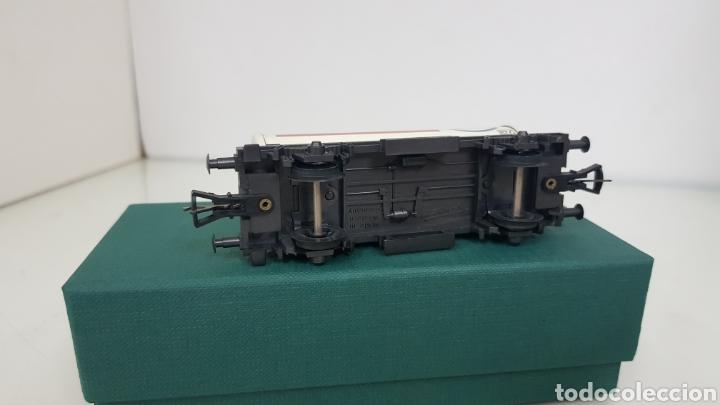 Trenes Escala: Fleischmann escala H0 corriente continua vagón cisterna Esso de 10 cm - Foto 5 - 184360522