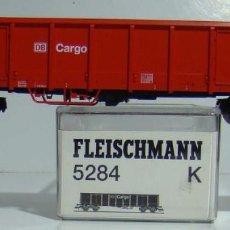 Trenes Escala: FLEISCHMANN VAGON ABIERTO DE LA DB CARGO REF 5284. Lote 186350602