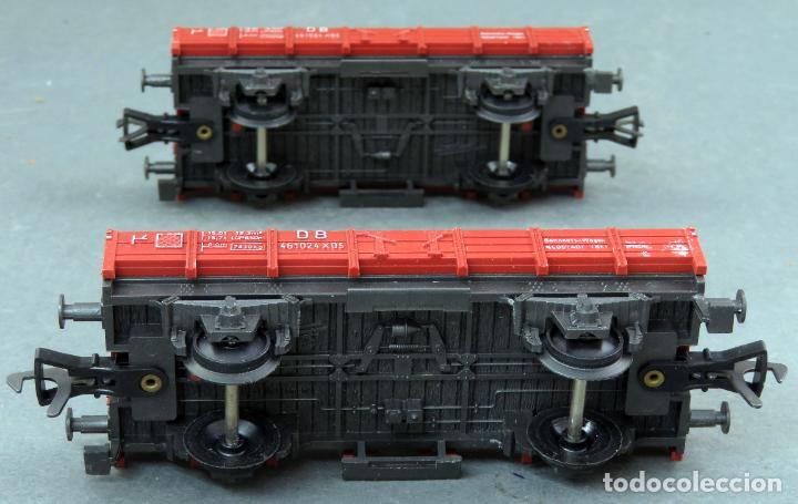 Trenes Escala: 2 vagón borde bajo Fleischmann tren H0 con caja Ref 5011 - Foto 4 - 189270226