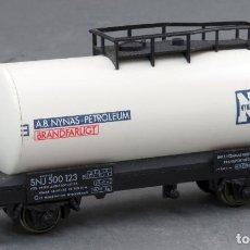 Comboios Escala: VAGÓN CISTERNA FLEISCHMANN TREN H0 AB NYNAS PETROLEUM. Lote 189342940