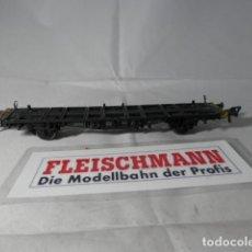 Trenes Escala: VAGÓN PORTACONTENEDOR ESCALA HO DE FLEISCHMANN . Lote 191339765