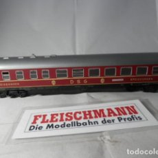Trenes Escala: VAGÓN RESTAURANTE DE LA DSG ESCALA HO DE FLEISCHMANN . Lote 191340358