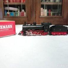 Trenes Escala: FLEISCHMANN H0 4124 LOCOMOTORA VAPOR BR 53 7752 DRG ANALÓGICA NUEVO NEW OVP. Lote 191892040