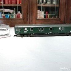 Trenes Escala: FLEISCHMANN H0 5102 VAGÓN DE CORREOS ALEMÁN DB BUNDESPOST NUEVO NEW OVP. Lote 191892668
