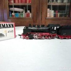 Trenes Escala: FLEISCHMANN H0 4140 LOCOMOTORA VAPOR BR 24074 DRG ANALOGIC NUEVO NEW OVP. Lote 191892808