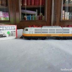 Trenes Escala: FLEISCHMANN H0 4378 LOCOMOTORA ELÉCTRICA LUFTHANSA BR 103 DIGITAL NUEVO NEW OVP. Lote 191896690