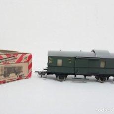 Trenes Escala: FLEISCHMANN H0 1405 VAGÓN EQUIPAJE (1975) NUEVO A ESTRENAR NEW OVP. Lote 156858814
