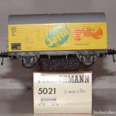 Trenes Escala: VAGON CERRADO DE FLEISCHMANN REF: 5021 ESCALA HO. Lote 193944628