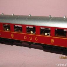 Comboios Escala: COCHE RESTAURANTE DE LA DSG CON AMENIZADO INTERIOR EN ESCALA *H0* 5841 DE FLEISCHMANN. Lote 194385458