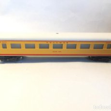Trenes Escala: FLEISCHMANN VAGON UNION PACIFIC METAL, MADE US ZONE GERMANY UNICO. Lote 194635077