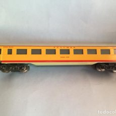 Trenes Escala: FLEISCHMANN VAGON UNION PACIFIC METAL, MADE US ZONE GERMANY UNICO. Lote 194635107