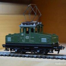 Trenes Escala: FLEISCHMANN H0 LOCOMOTORA ELECTRICA DE MANIOBRAS SERIE E 69, DE LA DB, REFERENCIA 1302 G.. Lote 195023465