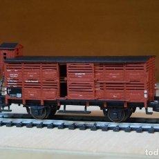 Trenes Escala: FLEISCHMANN H0 VAGÓN CERRADO CON GARITA, DE LA DB, REFERENCIA 5356.. Lote 195026732