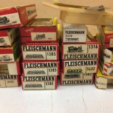 Trenes Escala: LOTE CAJAS FLEISCHMANN. Lote 195238695