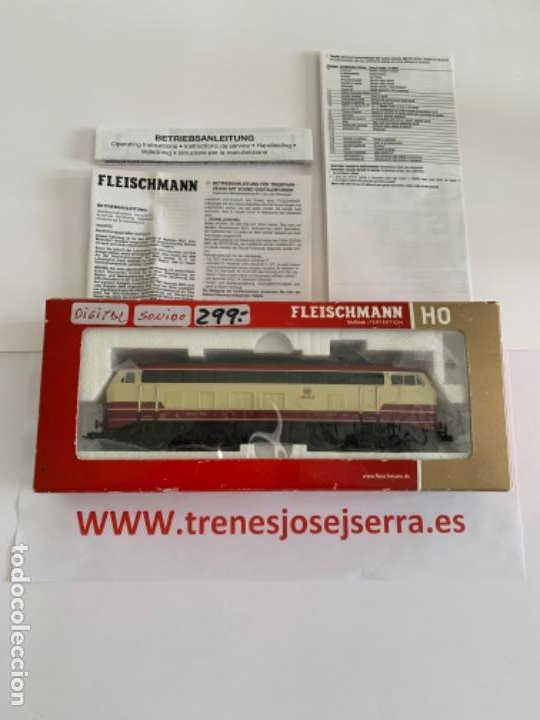FLEISCHMANN HO 493871 DIGITAL SONIDO (Juguetes - Trenes Escala H0 - Fleischmann H0)