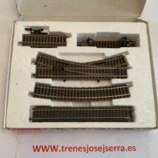 Trenes Escala: FLEISCHMANN. HO. SET AMPLIACION 6191 C. Lote 197716671