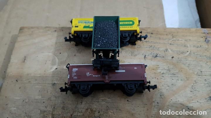Trenes Escala: 5vagones de fleischmannn es cala N - Foto 5 - 198054601