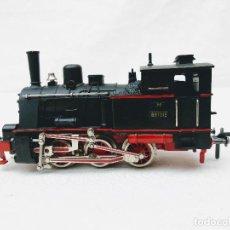 Trenes Escala: LOCOMOTORA VAPOR FLEISCHMANN CC 2 CARRILES REF 1315 DB BR 89 1315 (T3 PRUSIANA). Lote 198733891