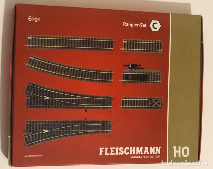 FLEISCHMANN 6191 - SET C VÍAS PROFI (Juguetes - Trenes Escala H0 - Fleischmann H0)