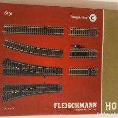 Trenes Escala: FLEISCHMANN 6191 - SET C VÍAS PROFI. Lote 200582850