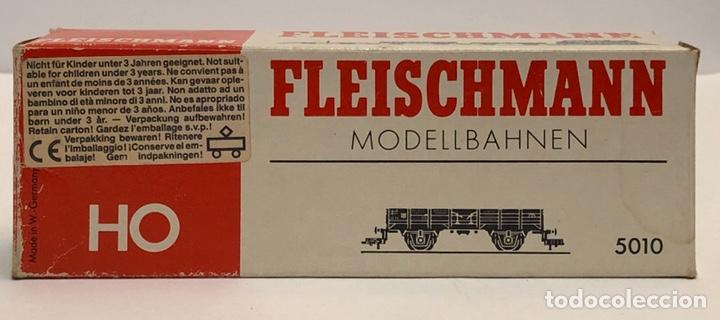 Trenes Escala: FLEISCHMANN 5010 - VAGÓN ABIERTO BORDES BAJOS H0 - Foto 5 - 265506929