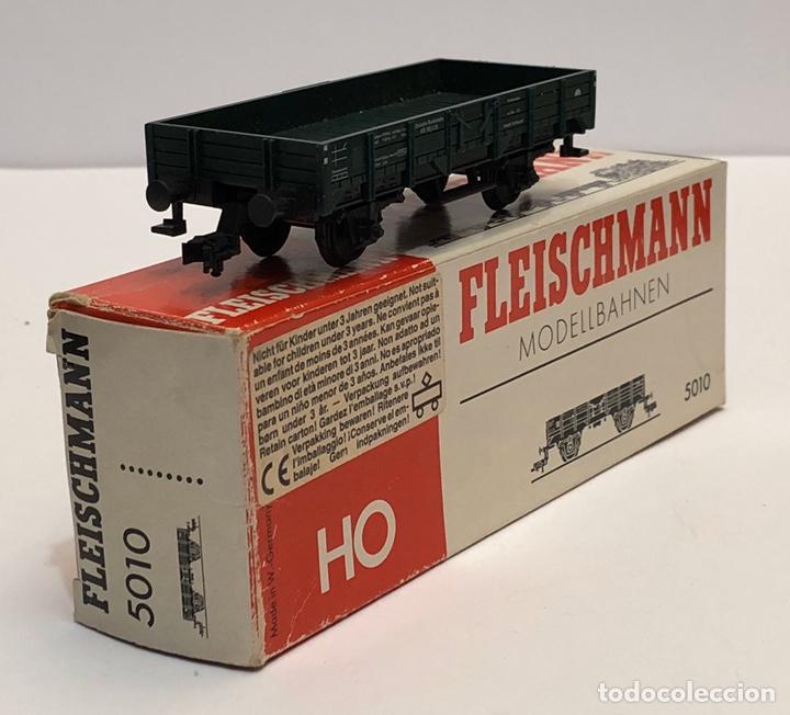 FLEISCHMANN 5010 - VAGÓN ABIERTO BORDES BAJOS H0 (Juguetes - Trenes Escala H0 - Fleischmann H0)