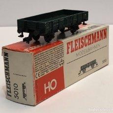 Trains Échelle: FLEISCHMANN 5010 - VAGÓN ABIERTO BORDES BAJOS H0. Lote 268936639