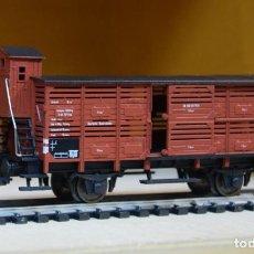 Trenes Escala: FLEISCHMANN H0 VAGÓN CERRADO CON GARITA, DE LA DB, REFERENCIA 5356.. Lote 204477353
