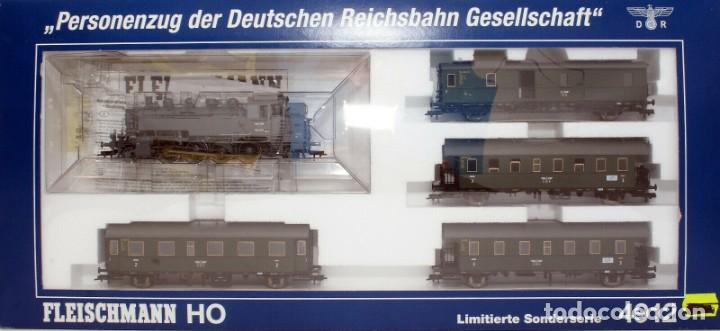 FLEISCHMANN H0 - 85 4912 - LOCOMOTORA TÉNDER - BR 86, GT 46 IN DE KLEUR ´EISENGRAU´ - DR (DRB) (Juguetes - Trenes Escala H0 - Fleischmann H0)