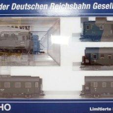 Trenes Escala: FLEISCHMANN H0 - 85 4912 - LOCOMOTORA TÉNDER - BR 86, GT 46 IN DE KLEUR ´EISENGRAU´ - DR (DRB). Lote 204627373