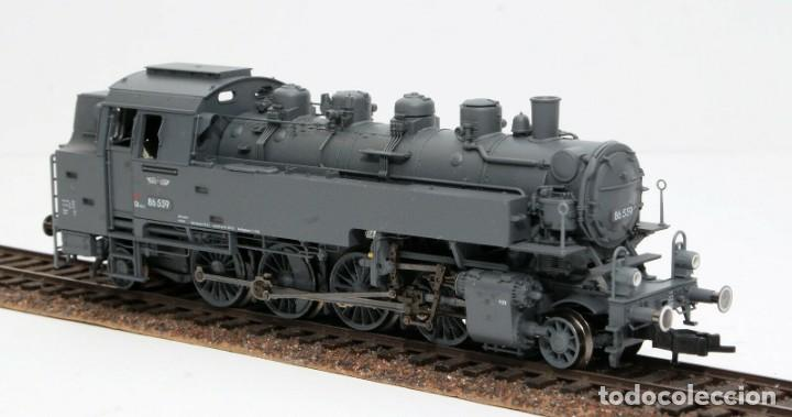 Trenes Escala: Fleischmann H0 - 85 4912 - Locomotora ténder - BR 86, Gt 46 in de kleur ´eisengrau´ - DR (DRB) - Foto 4 - 204627373
