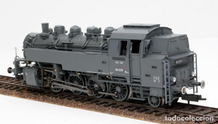 Trenes Escala: Fleischmann H0 - 85 4912 - Locomotora ténder - BR 86, Gt 46 in de kleur ´eisengrau´ - DR (DRB) - Foto 5 - 204627373