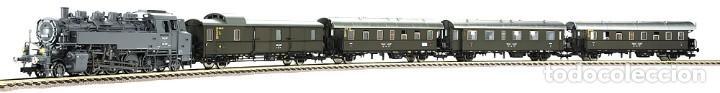 Trenes Escala: Fleischmann H0 - 85 4912 - Locomotora ténder - BR 86, Gt 46 in de kleur ´eisengrau´ - DR (DRB) - Foto 10 - 204627373