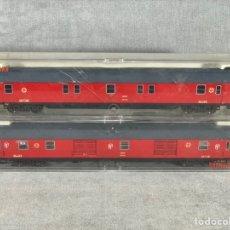 Trenes Escala: PAREJA DE VAGONES FLEISCHMANN - REF: 5190K - 5189 -. Lote 205068461