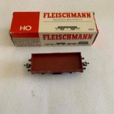 Trenes Escala: FLEISCHMANN. HO. REF 5011 VAGON. Lote 205539572