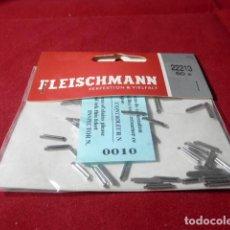 Trenes Escala: LOTE ENGANCHES PARA VIAS FLEISCHMANN. Lote 206456517