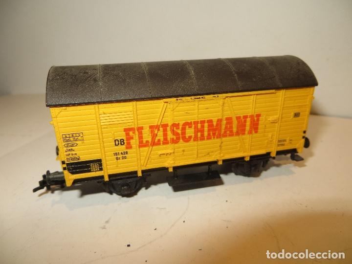 VAGON FLEISCHMANN ,BUEN ESTADO,SIN FALTAS,REGALADO (Juguetes - Trenes Escala H0 - Fleischmann H0)