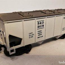 Trenes Escala: FLEISCHMANN ESCALA H0. VAGÓN AMERICANO COVERED HOPPER B & O. #38170.. Lote 206879841