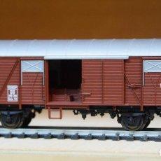 Trenes Escala: FLEISCHMANN H0 VAGÓN CERRADO TIPO GMHS 53, DE LA DB, REFERENCIA 5314.. Lote 207757747