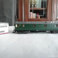 Trenes Escala: FLEISCHMANN H0 5088 VAGÓN CORREOS DRG ALEMÁN NUEVO. Lote 208266438