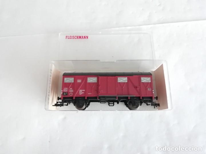 Trenes Escala: Fleischmann 5330 Vagón Cubierto DRG Época II Nuevo - Foto 2 - 208373136