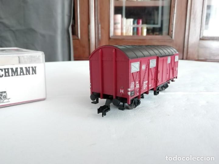 Trenes Escala: Fleischmann 5330 Vagón Cubierto DRG Época II Nuevo - Foto 3 - 208373136