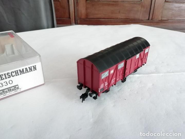 Trenes Escala: Fleischmann 5330 Vagón Cubierto DRG Época II Nuevo - Foto 5 - 208373136