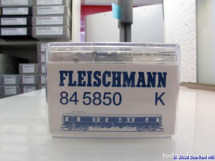 FLEISCHMANN 84 5850 K H0 SCHNELLZUG-GEPÄCKWG. (Juguetes - Trenes Escala H0 - Fleischmann H0)