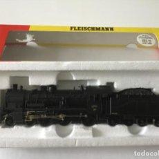 Trenes Escala: LOCOMOTORA H0 FLEISCHMANN VAPOR CON TENDER. REF 4167. ÚNICA. DE VITRINA. Lote 210130075