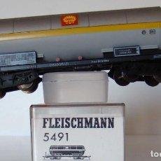 Trenes Escala: VAGON CISTERNA DE SHELL DE LA DB REF: 5491. Lote 211879408