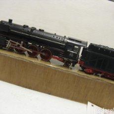 Trenes Escala: LOCOMOTORA FLEICHMANN TODA METAL DE LOS AÑOS 1950 LA 2-3-1 HO. Lote 252613095