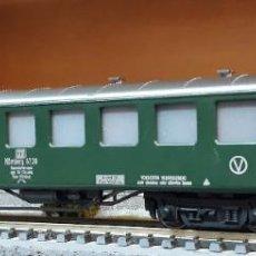 Trenes Escala: FLEISCHMANN H0 COCHE DE VIAJEROS NÜRNBERG 6720, DE LA DB, REFERENCIA 5137.. Lote 214303517