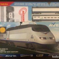 Trenes Escala: VENDO LOTE DE 9 CAJA DE TRENES DIVERSOS MODELOS Y MARCA ,NO USADO. Lote 214408903